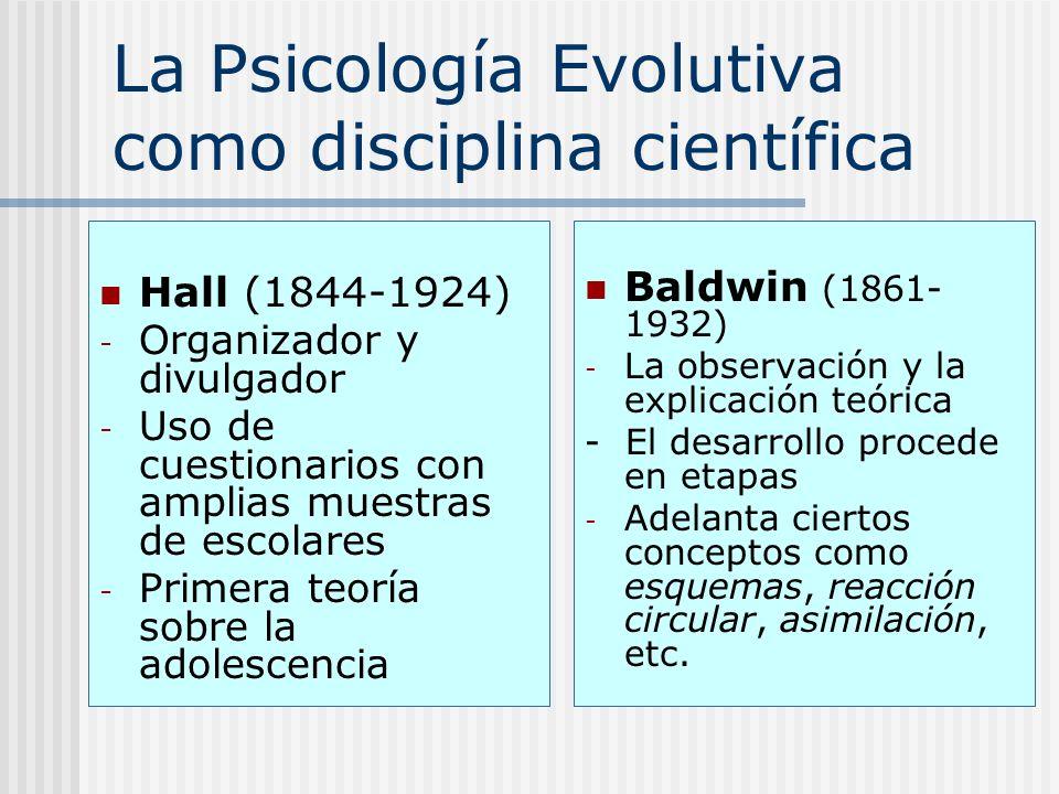 La Psicología Evolutiva como disciplina científica