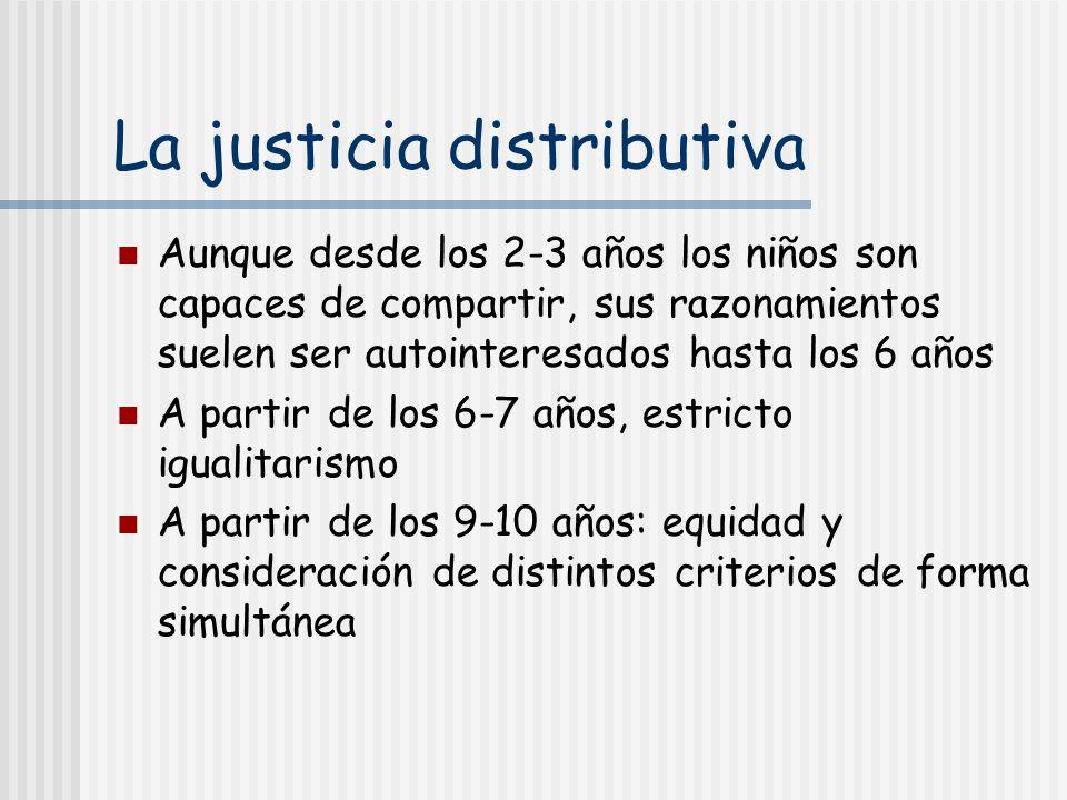 La justicia distributiva
