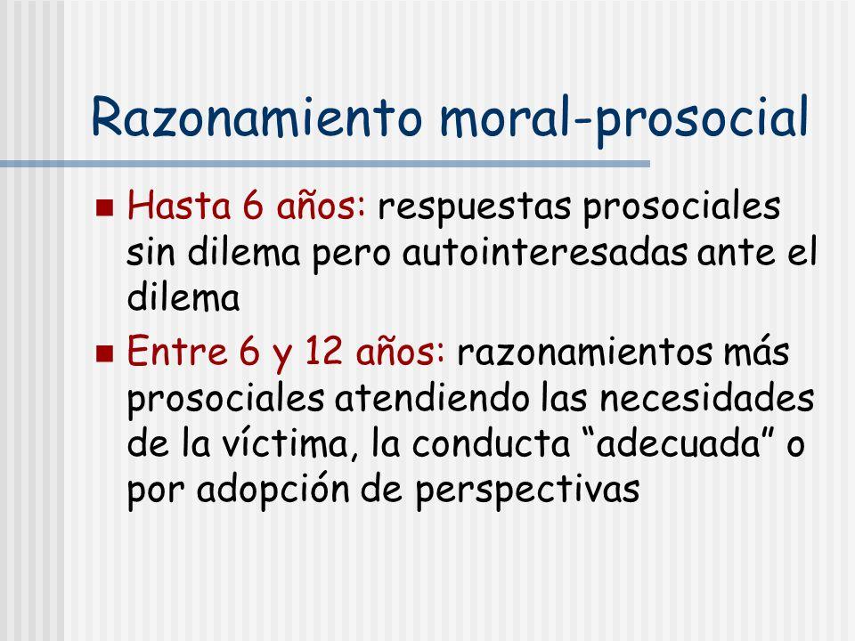 Razonamiento moral-prosocial