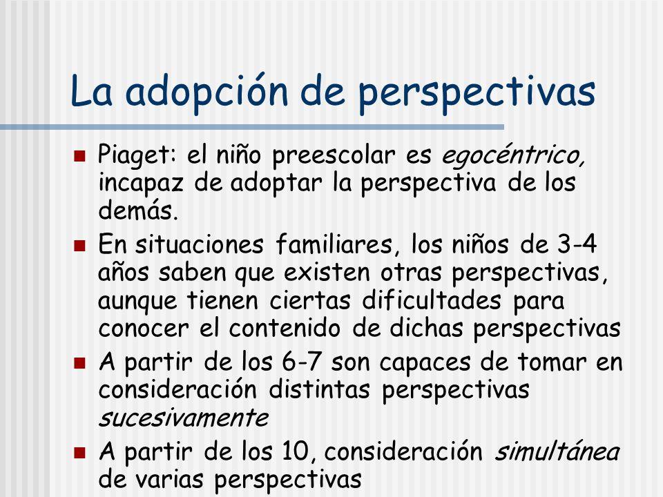 La adopción de perspectivas