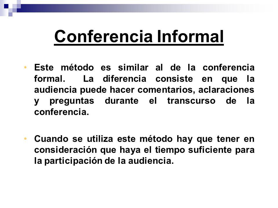 Conferencia Informal