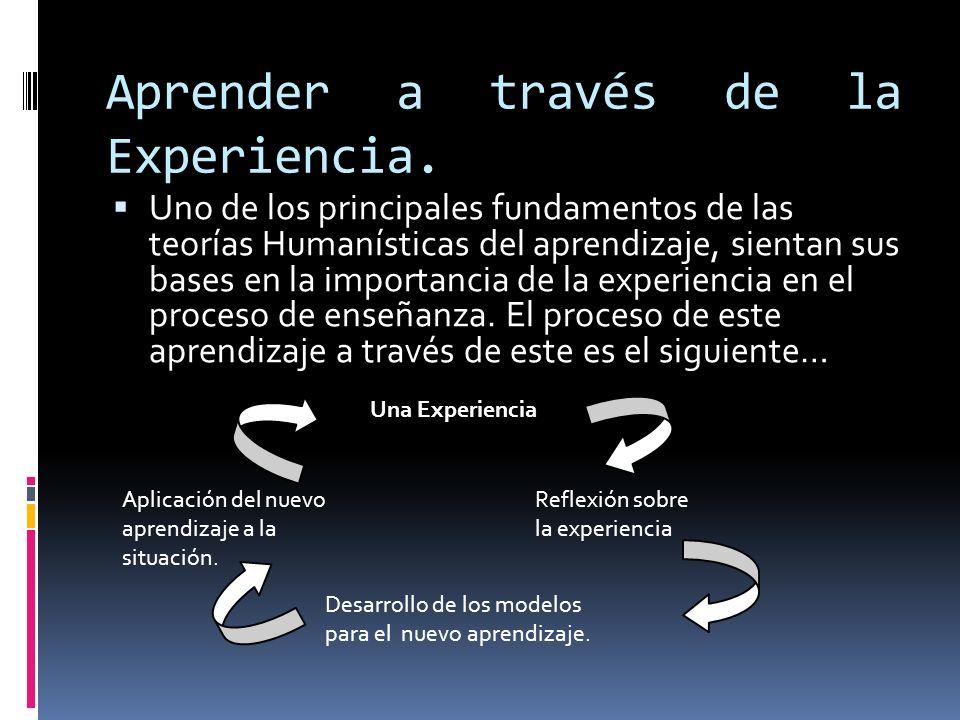 Aprender a través de la Experiencia.