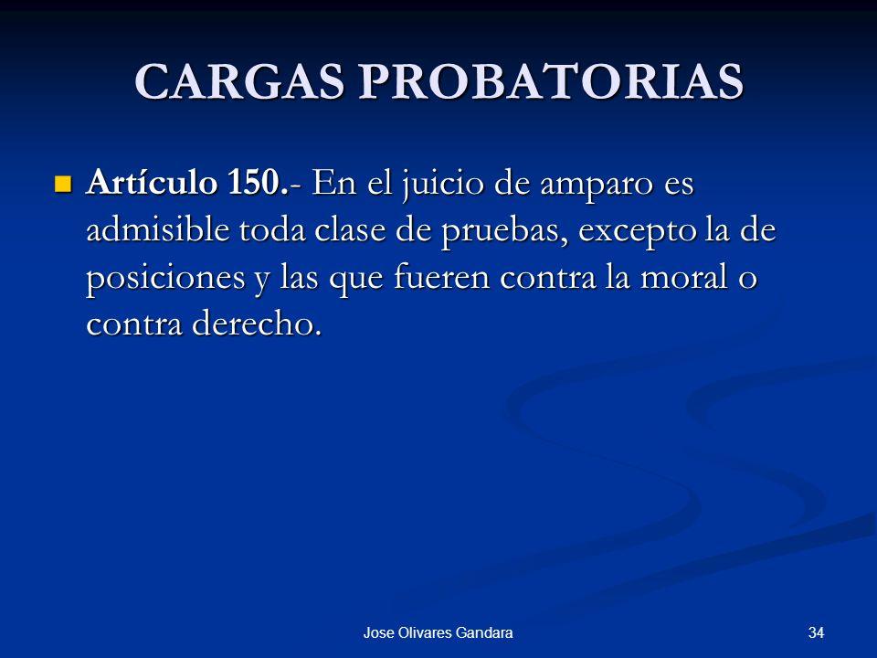 CARGAS PROBATORIAS