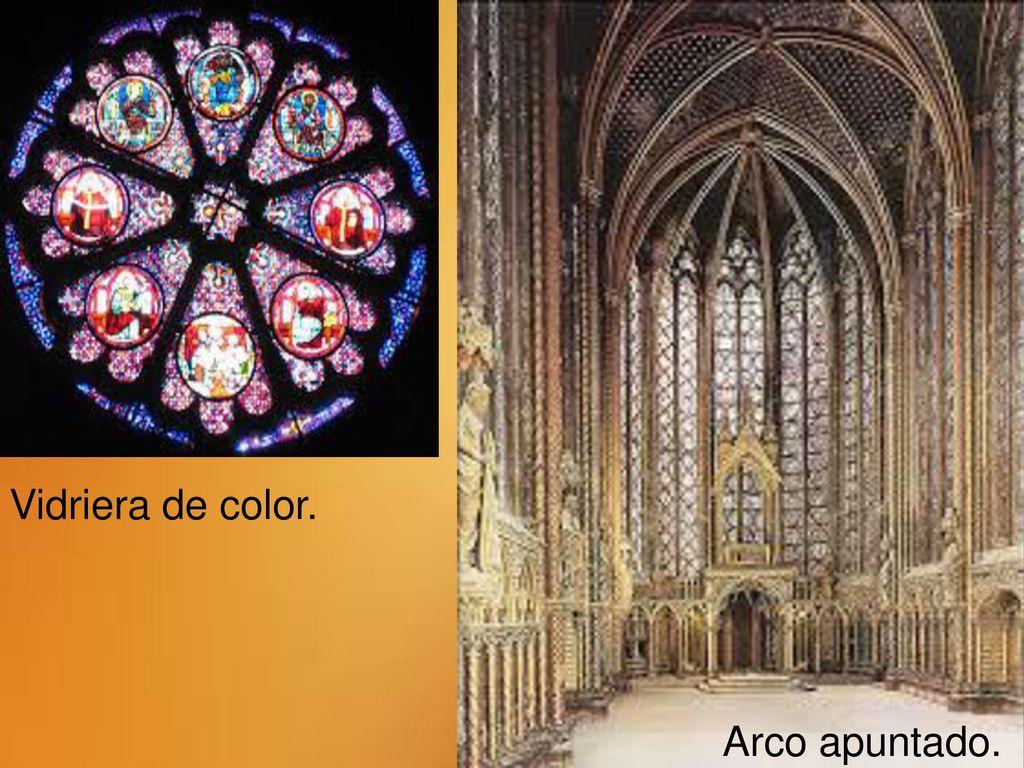 Arte g tico catedral de burgos ppt descargar - Vidrieras de colores ...