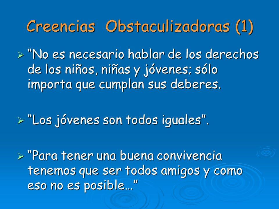 Creencias Obstaculizadoras (1)