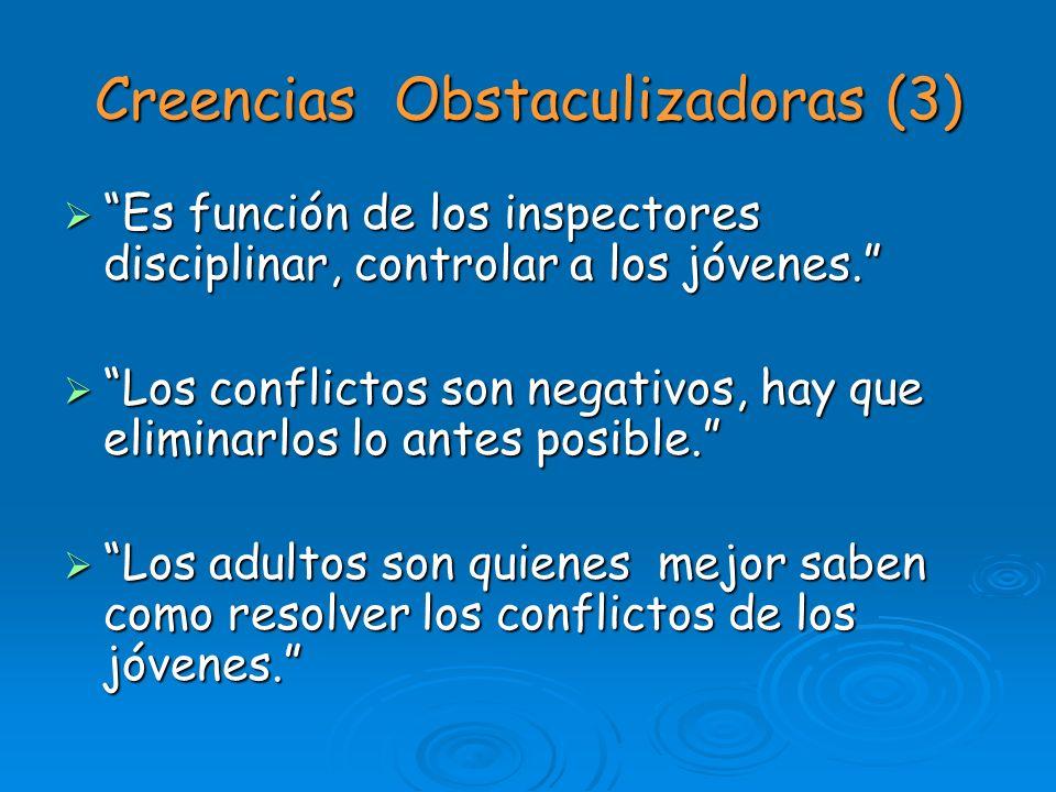 Creencias Obstaculizadoras (3)