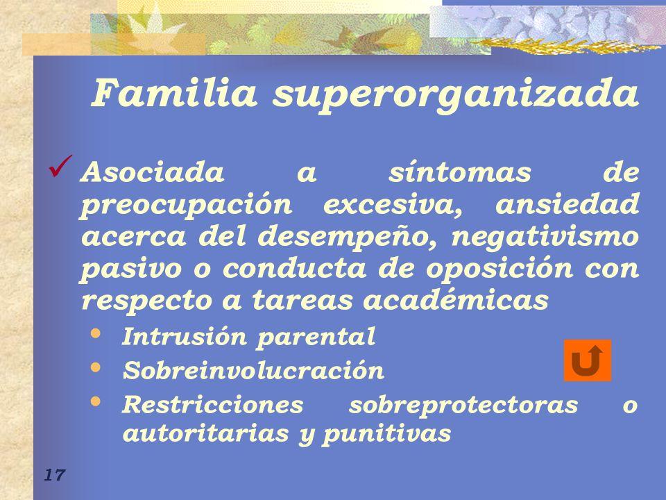 Familia superorganizada