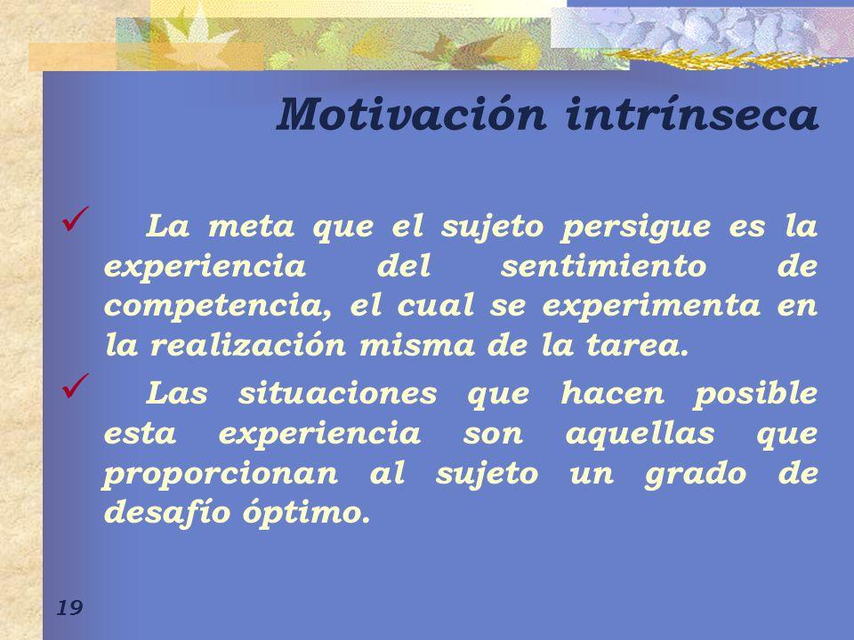Motivación intrínseca
