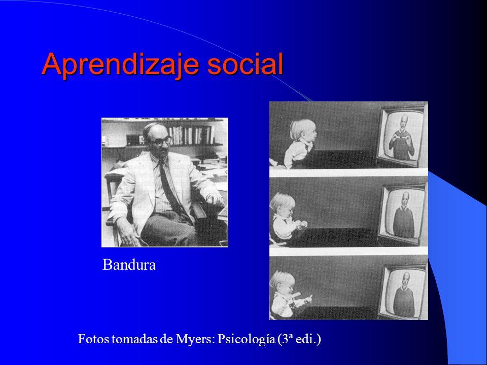 Aprendizaje social Bandura