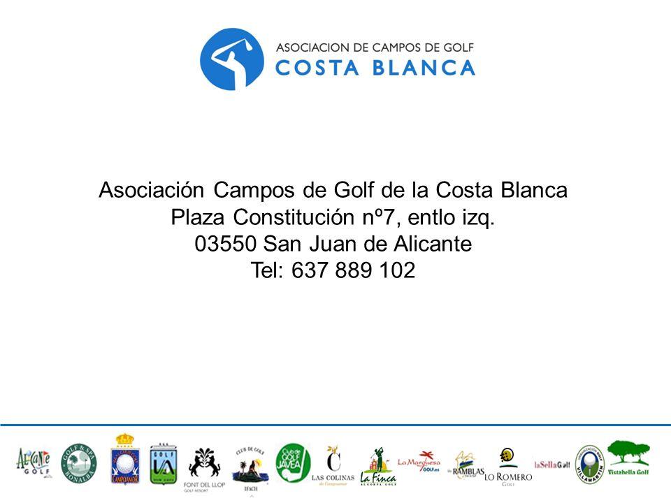 Asociación Campos de Golf de la Costa Blanca