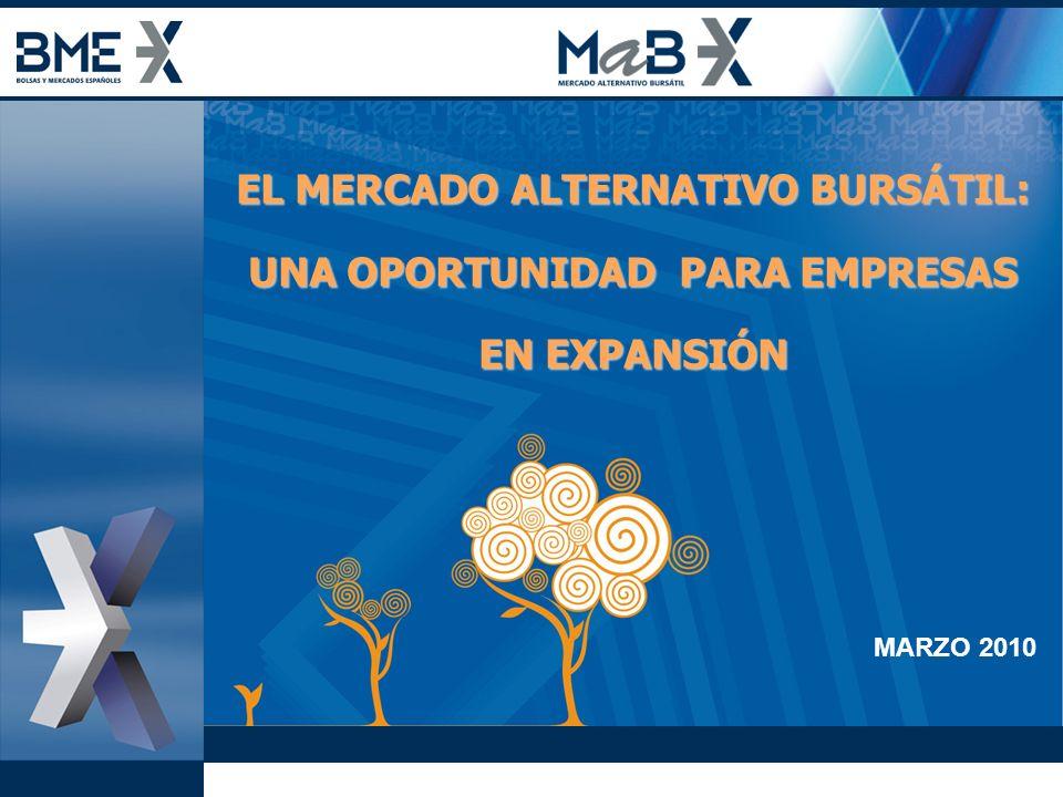 EL MERCADO ALTERNATIVO BURSÁTIL: UNA OPORTUNIDAD PARA EMPRESAS EN EXPANSIÓN