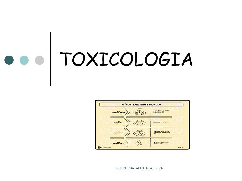 TOXICOLOGIA INGENIERIA AMBIENTAL 2006
