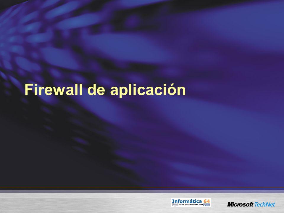 Firewall de aplicación
