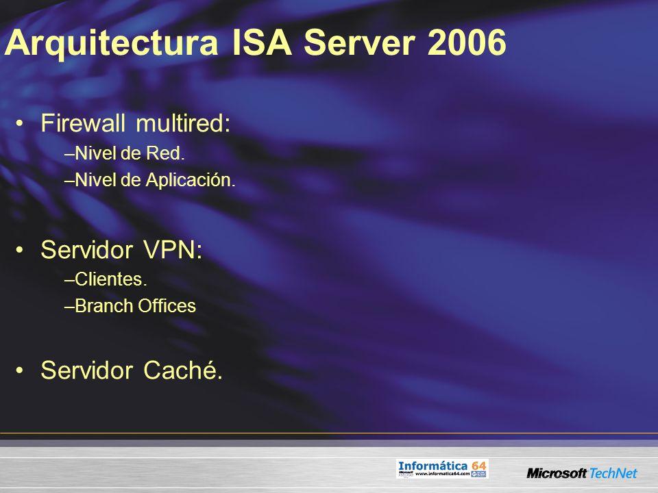 Arquitectura ISA Server 2006