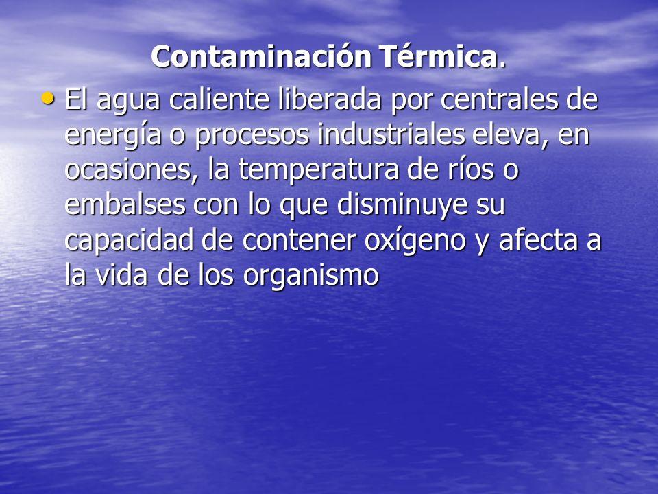 Contaminación Térmica.