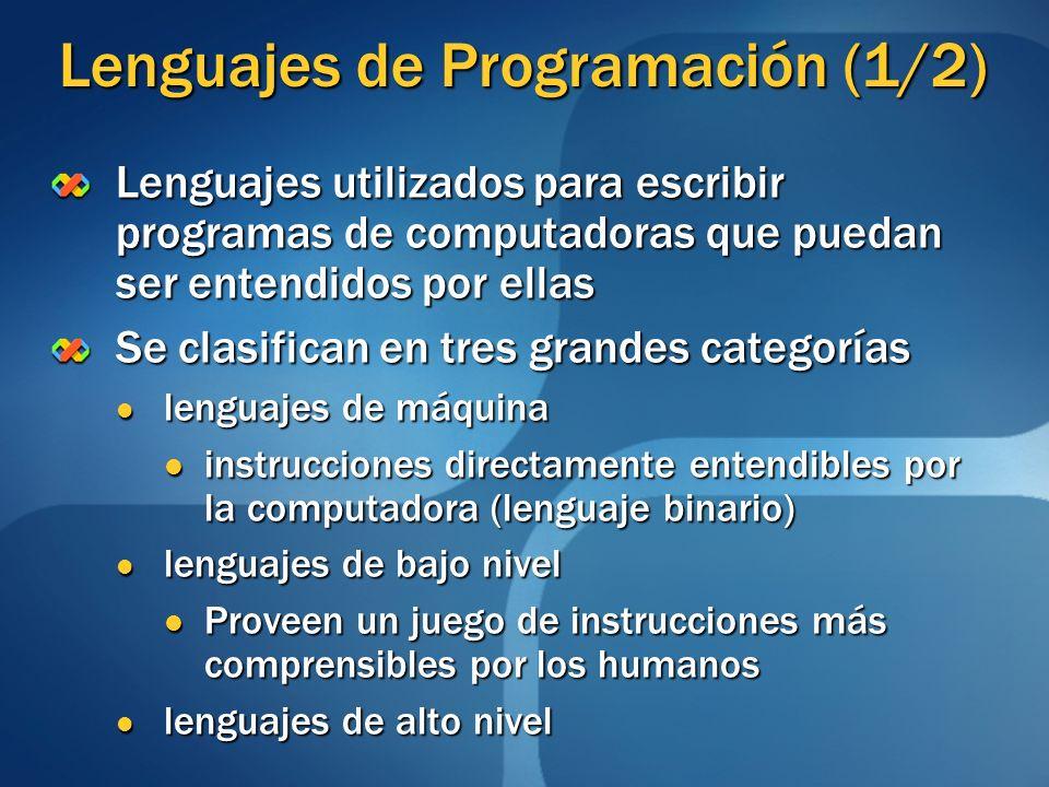 Lenguajes de Programación (1/2)