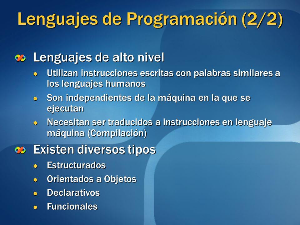 Lenguajes de Programación (2/2)