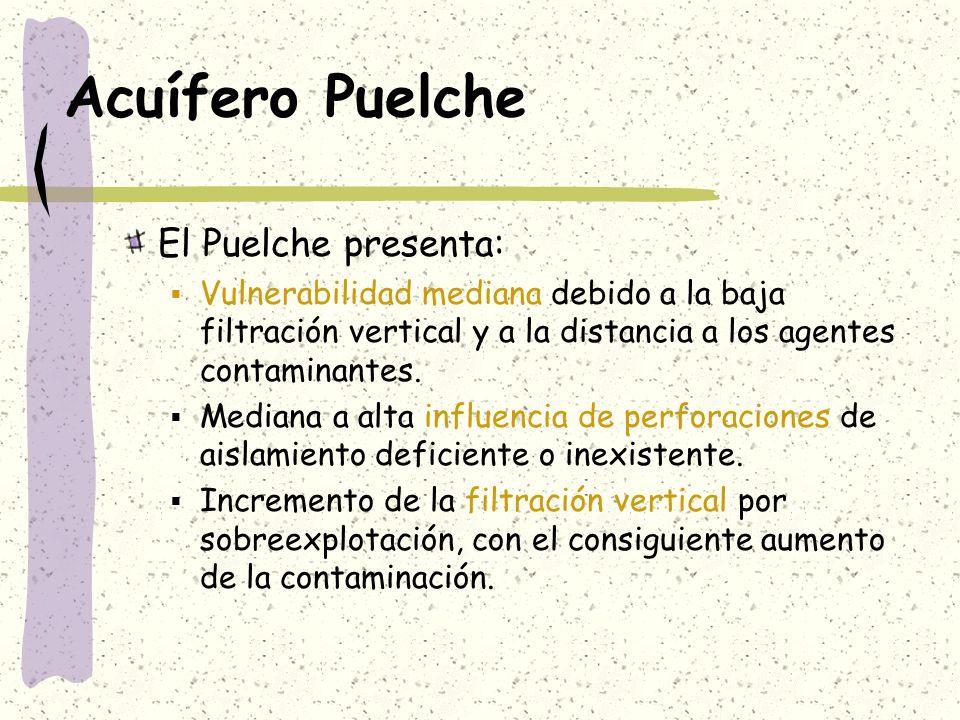 Acuífero Puelche El Puelche presenta: