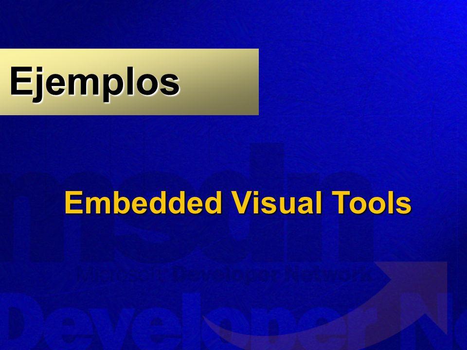 Ejemplos Embedded Visual Tools