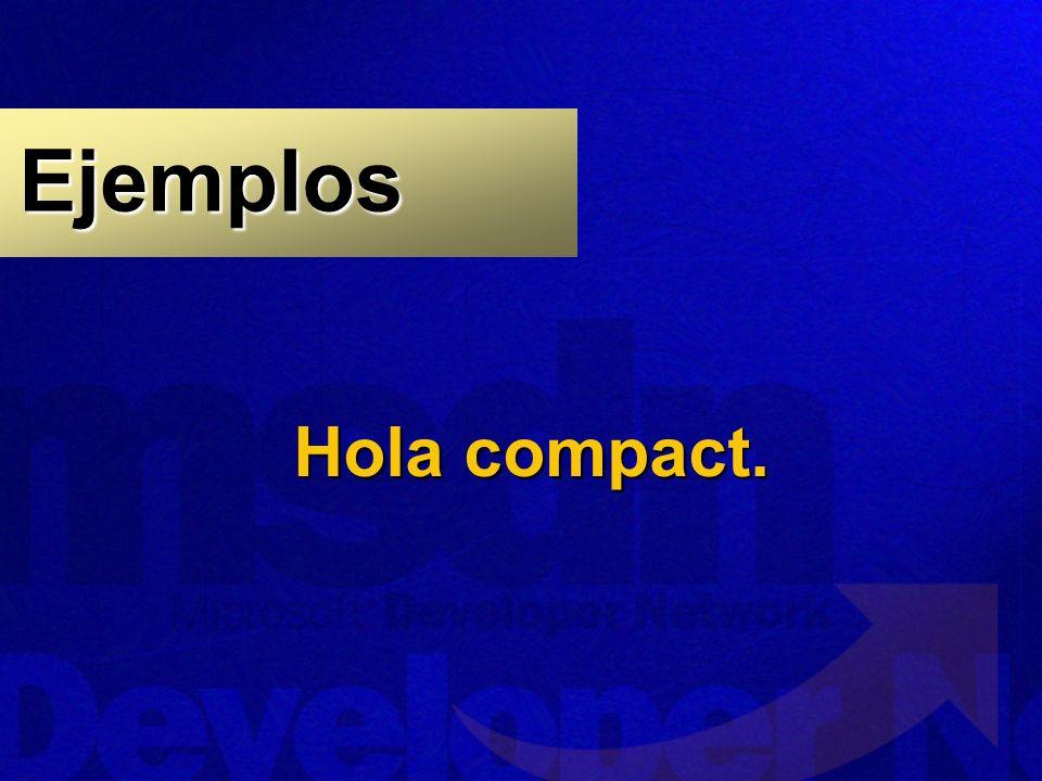 Ejemplos Hola compact.