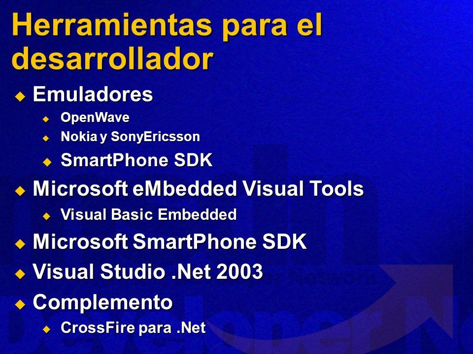 Herramientas para el desarrollador