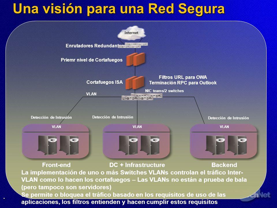 Una visión para una Red Segura