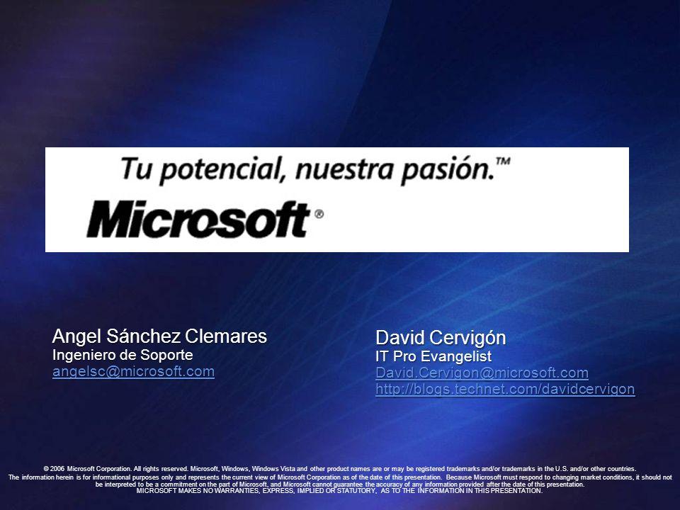 Angel Sánchez Clemares David Cervigón