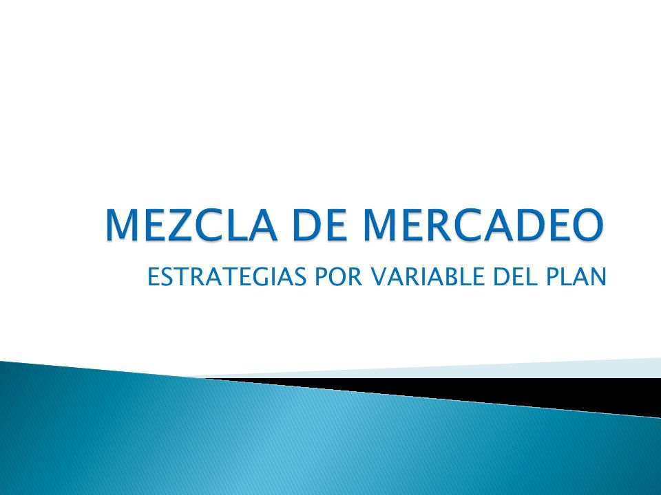ESTRATEGIAS POR VARIABLE DEL PLAN