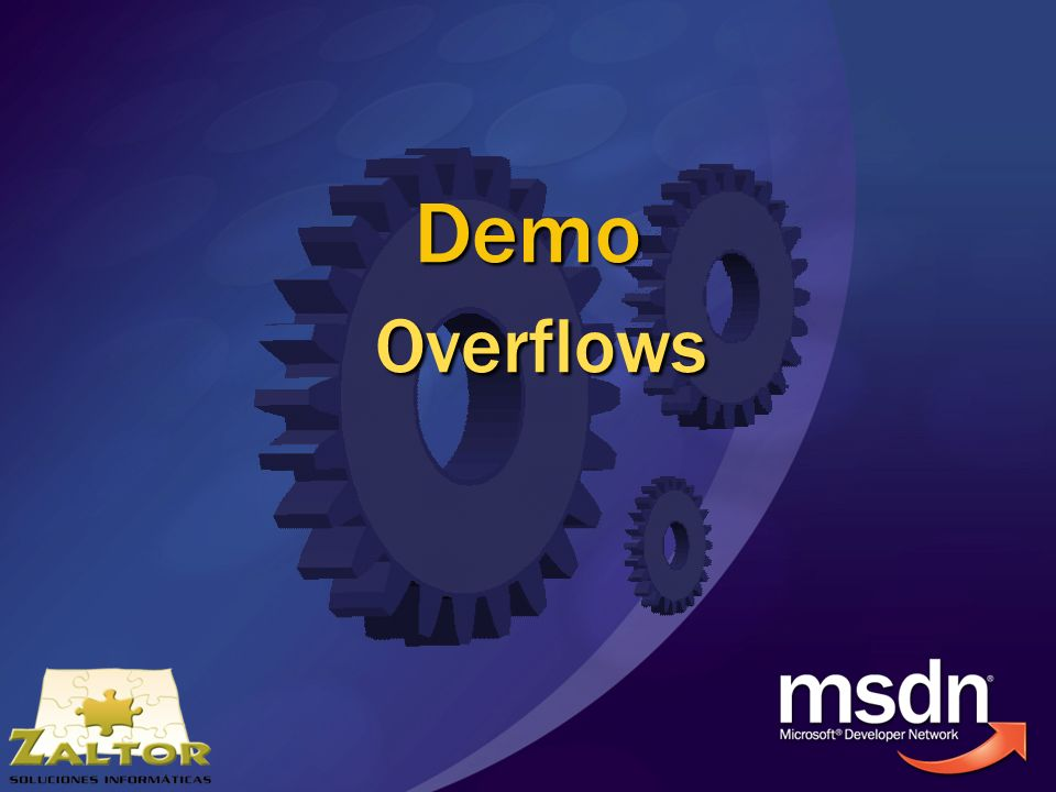 Demo Overflows