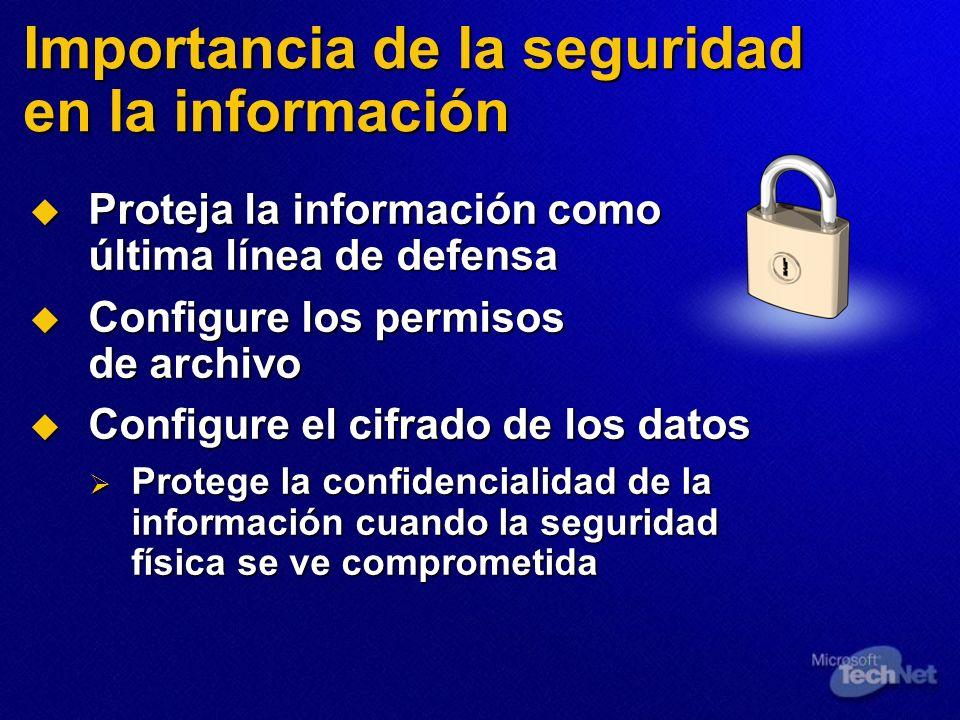 Importancia de la seguridad en la información