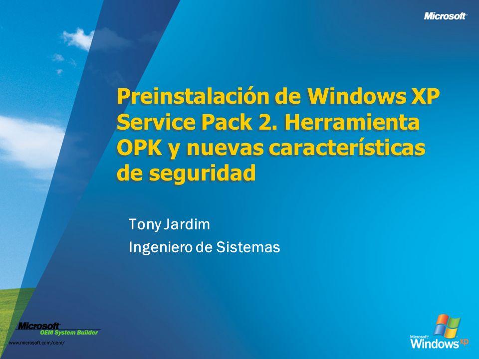 Tony Jardim Ingeniero de Sistemas