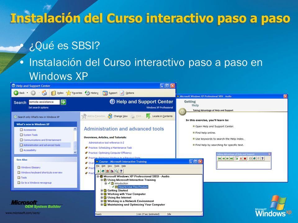 Instalación del Curso interactivo paso a paso