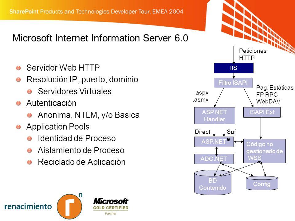Microsoft Internet Information Server 6.0