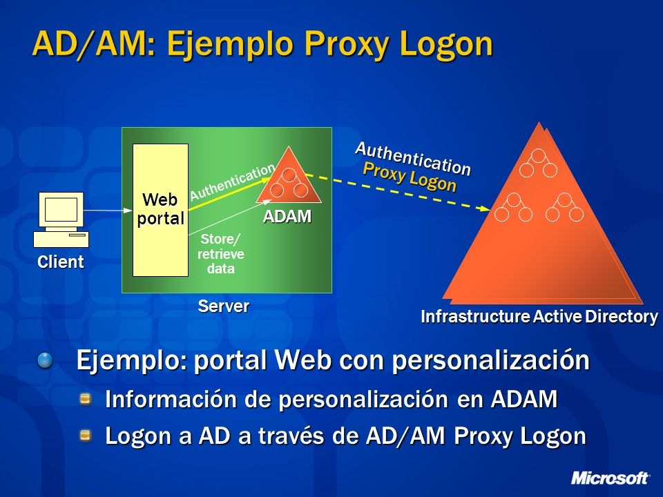 AD/AM: Ejemplo Proxy Logon