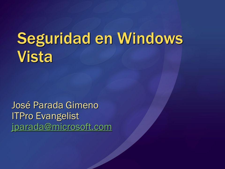 Seguridad en Windows Vista
