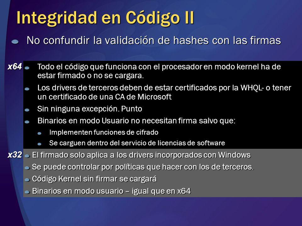 Integridad en Código II