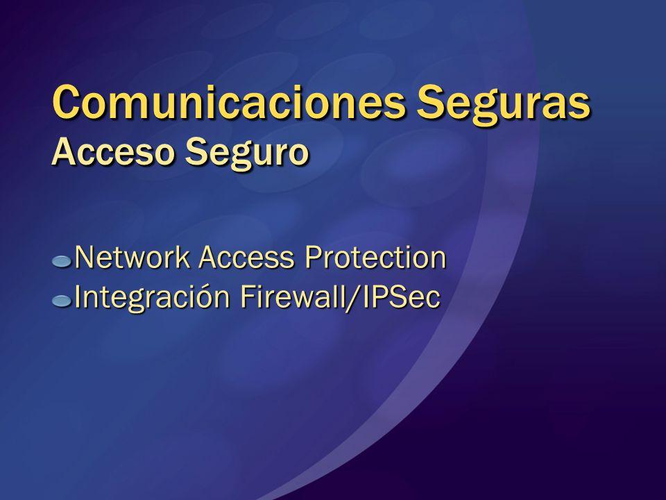 Comunicaciones Seguras Acceso Seguro