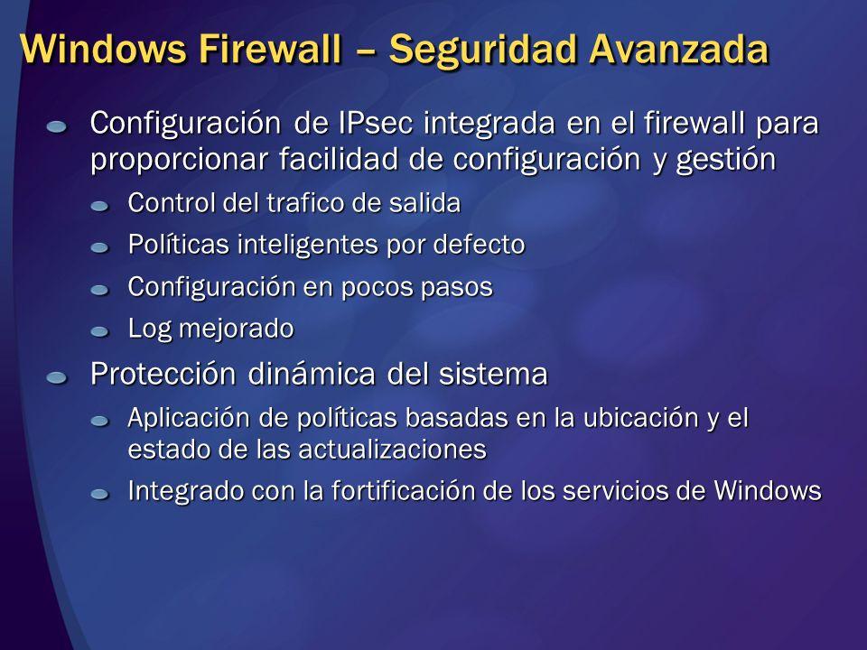 Windows Firewall – Seguridad Avanzada
