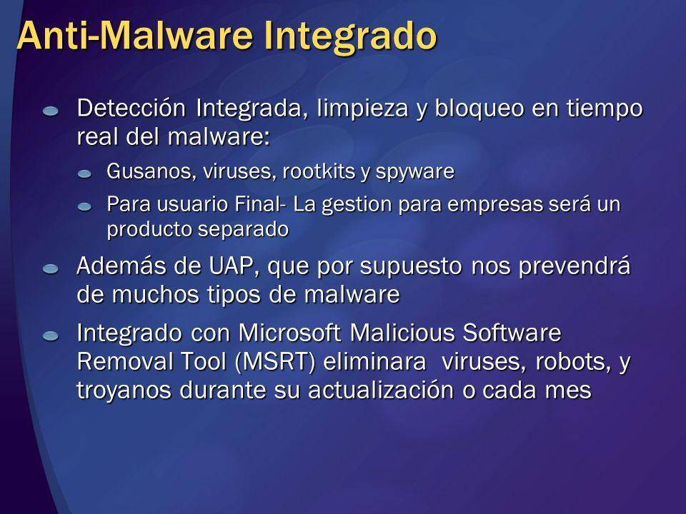 Anti-Malware Integrado