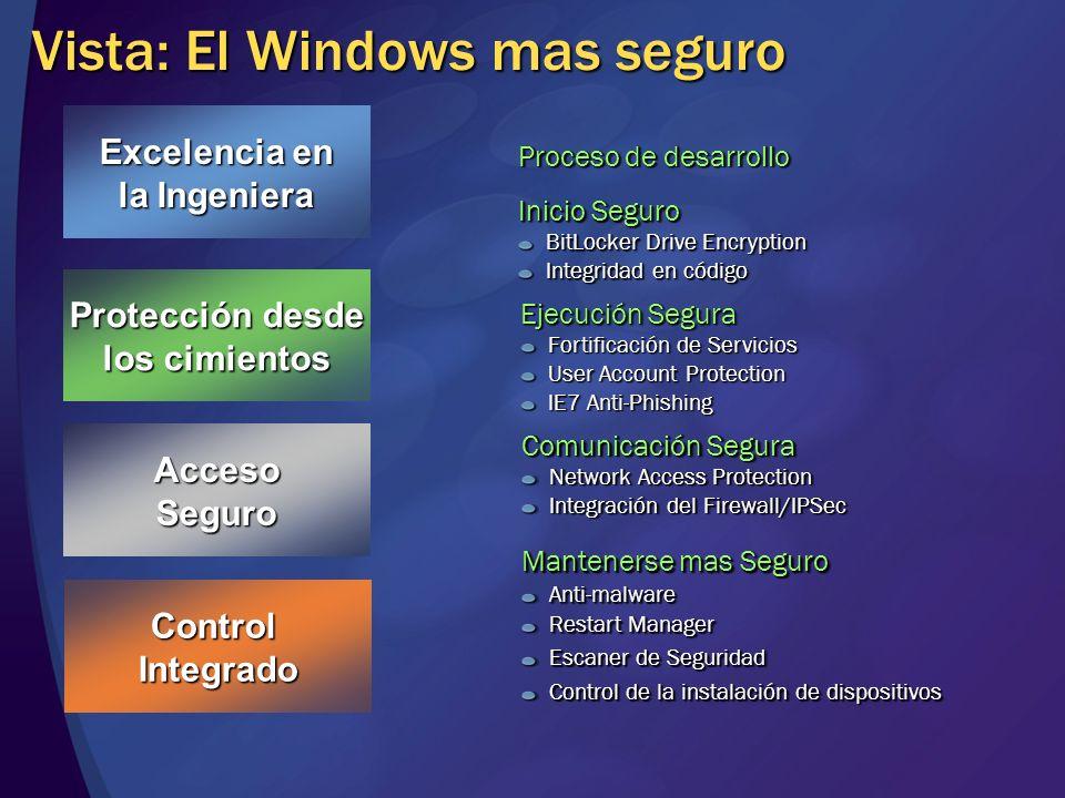 Vista: El Windows mas seguro