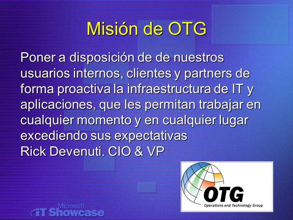 Misión de OTG