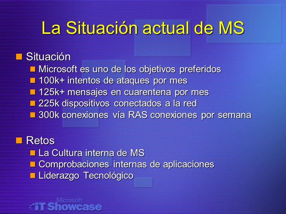La Situación actual de MS