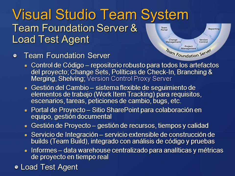 Visual Studio Team System Team Foundation Server & Load Test Agent