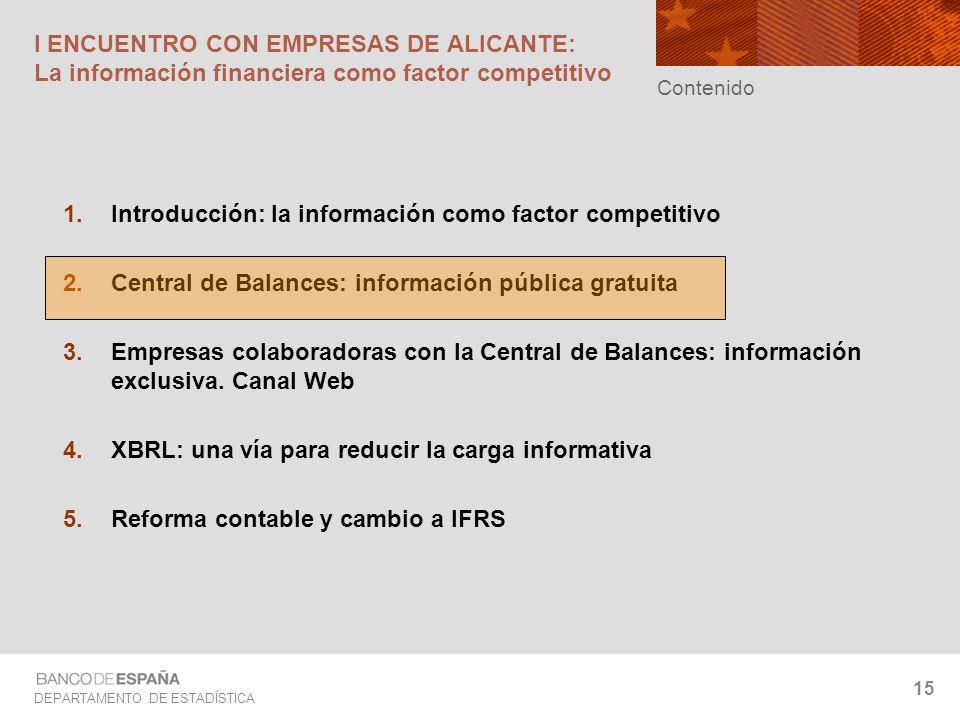 Introducción: la información como factor competitivo