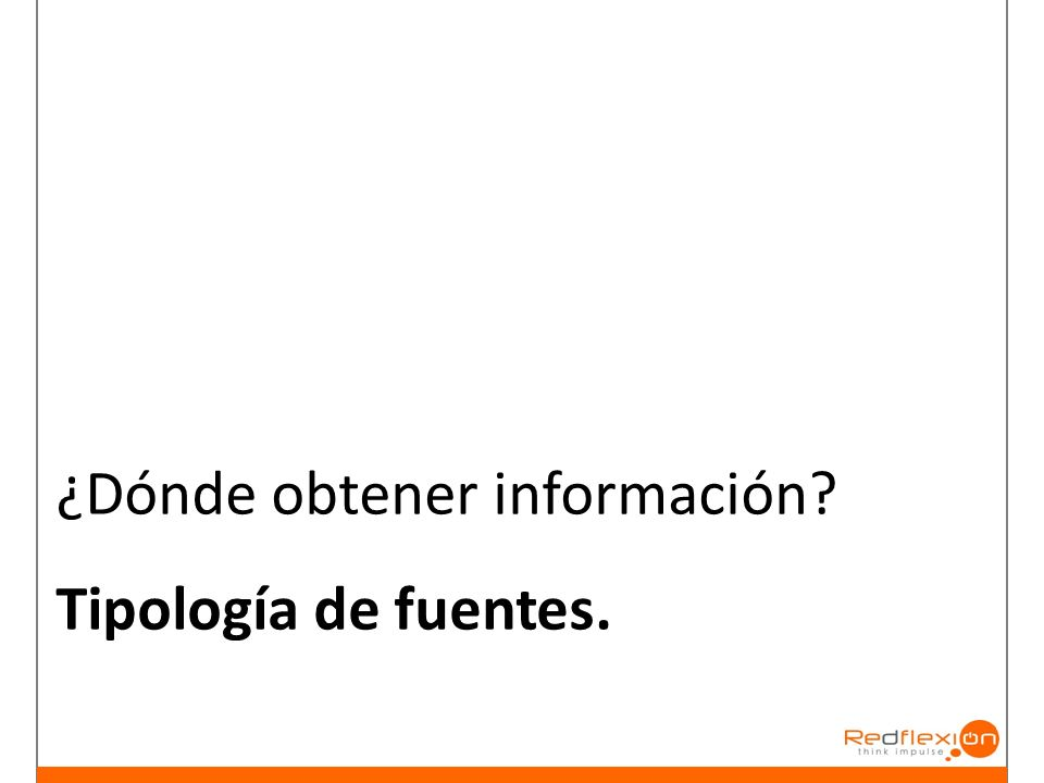 ¿Dónde obtener información