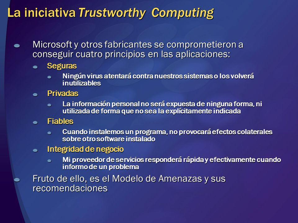 La iniciativa Trustworthy Computing