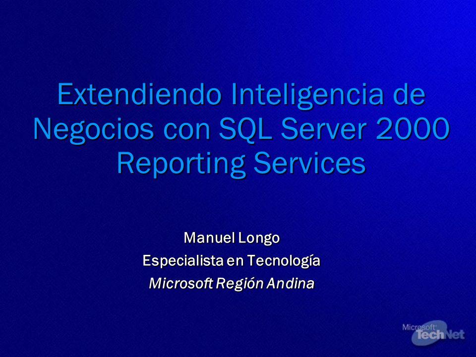 Manuel Longo Especialista en Tecnología Microsoft Región Andina