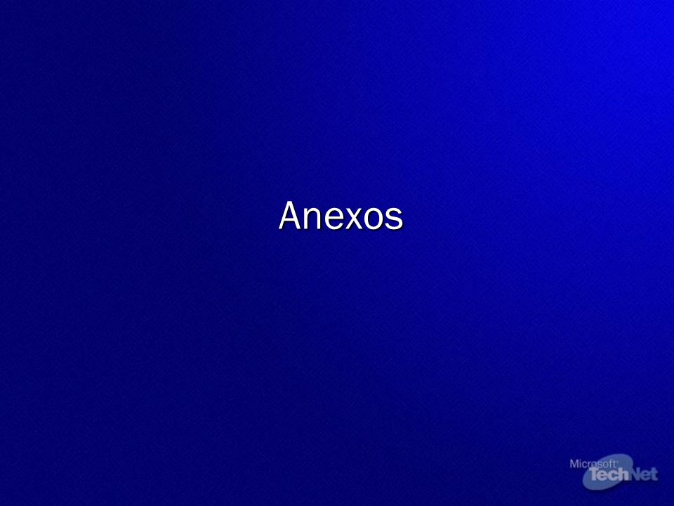 Anexos © 2002 Microsoft Corporation. All rights reserved.