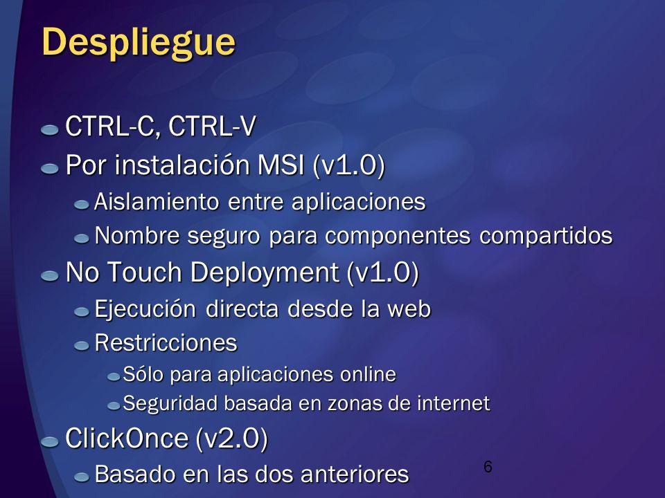 Despliegue CTRL-C, CTRL-V Por instalación MSI (v1.0)