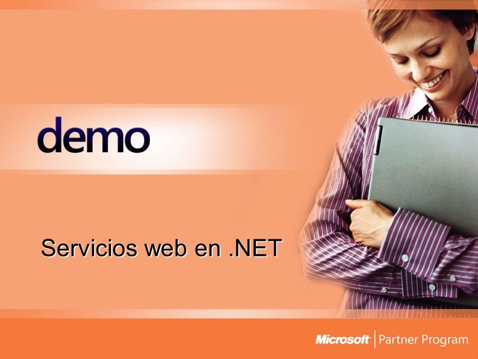 Servicios web en .NET
